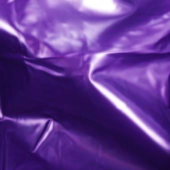 Slippery Vinyl Flat Double Bedsheet